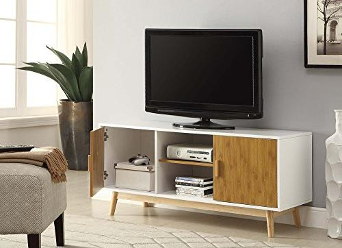 Convenience TV Stand, White