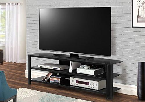 Innovex N glass TV for TVs up to 70 inches, Black
