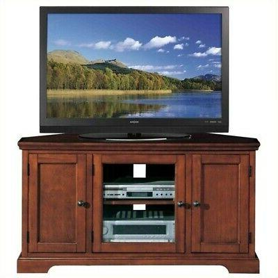 Leick Riley Holliday Westwood Corner TV Stand with Storage,