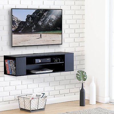 Media Stand Entertainment Center for Cable Boxes, Routers, R