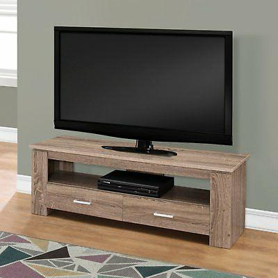 Monarch Specialties 48 TV Stand Storage Drawers
