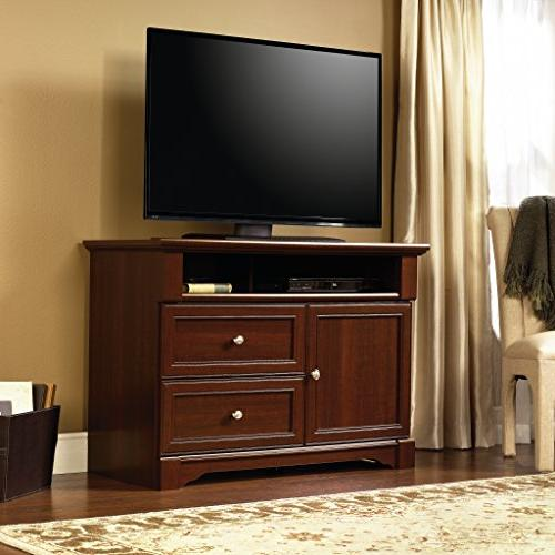 Sauder Boy Tv's up to Select Cherry finish