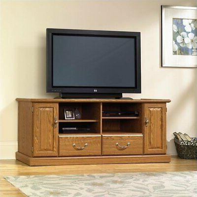 orchard hills wood tv stand