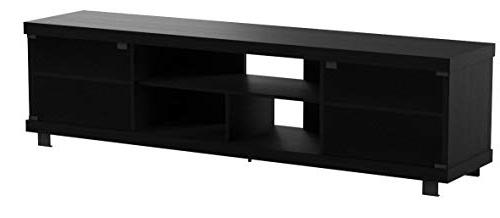 "Sonax B-207-CHT Wide Bench, 70.75"" Ravenswood Black"