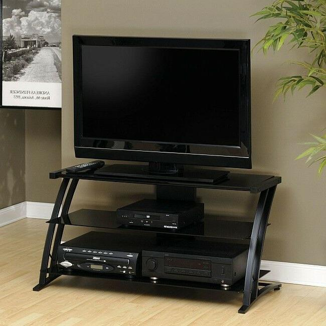 """TV Stand For Flat Screens 39"""" Entertainment Center Cabinet B"""