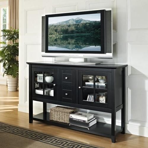 """WE Furniture 52"""" Table Wood Console,"""