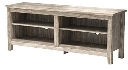 """WE 58"""" TV Console, Driftwood"""