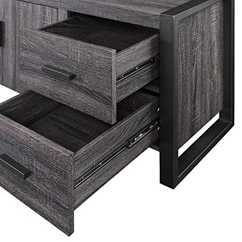 WE Wood Console,
