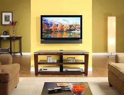 Whalen Furniture 3-in-1 Flat Panel TV Stand and Entertainmen