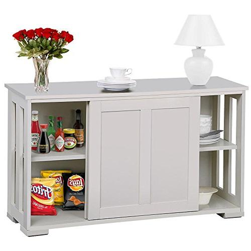 antique white stackable sideboard buffet