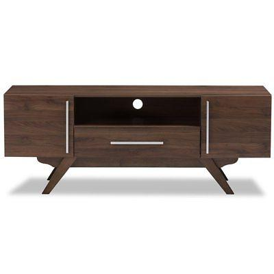 Baxton Studio Ashfield TV Stand in Brown