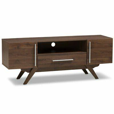 ashfield 60 tv stand in walnut brown