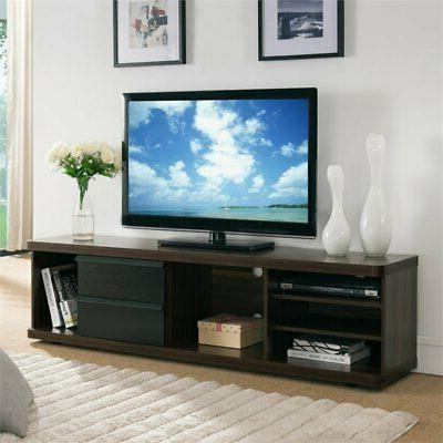 baron two tone tv stand