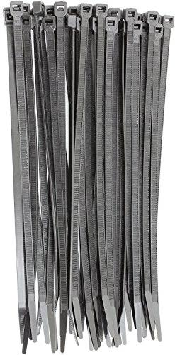 "6"" Black 18lbs  Zip Ties, Choose Size/Color, By Bolt Dropper"
