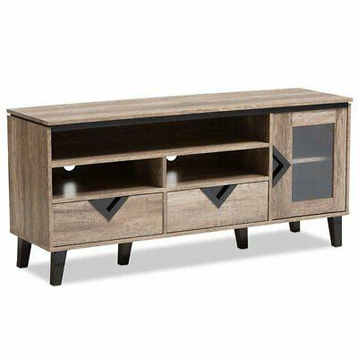 cardiff wood tv stand distressed