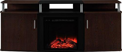 "Carson Fireplace for TVs up 70"", Multiple Colors"