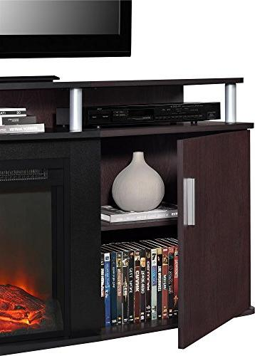 "Carson Fireplace for TVs to 70"","