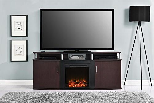 "Carson Fireplace for TVs to 70"", Multiple Colors"