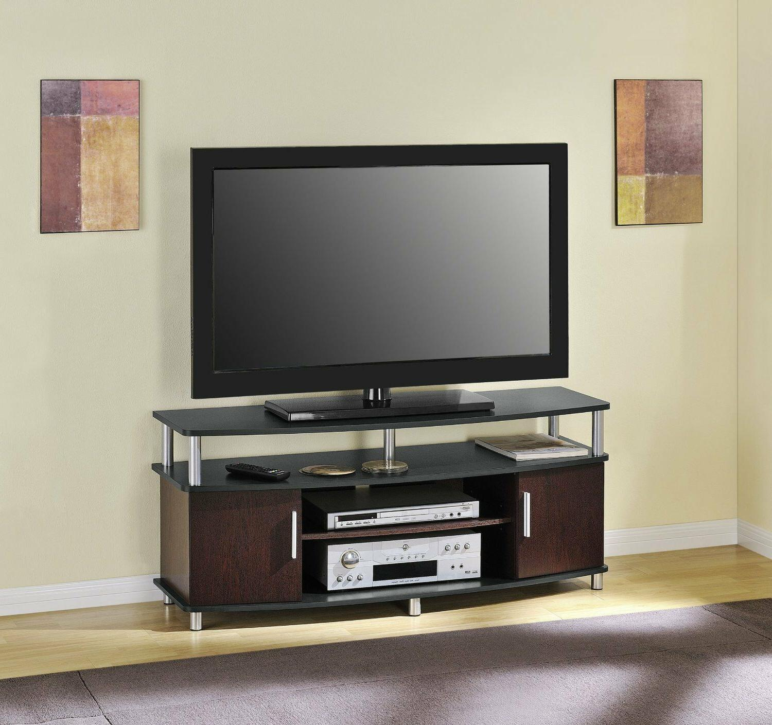 "Contemporary Media 50"" Flat TV Cabinet Furniture"