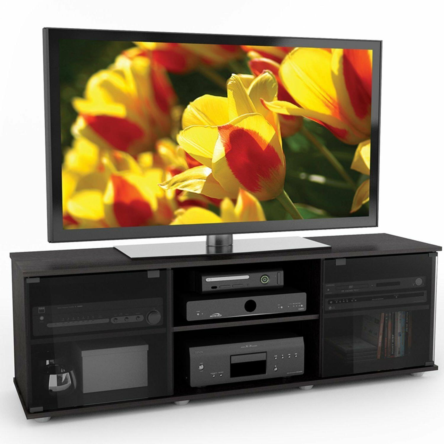 Contemporary Stand Entertainment Center Home Television