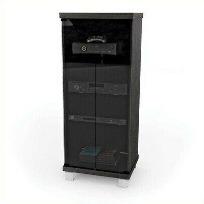 corliving holland glass media stand