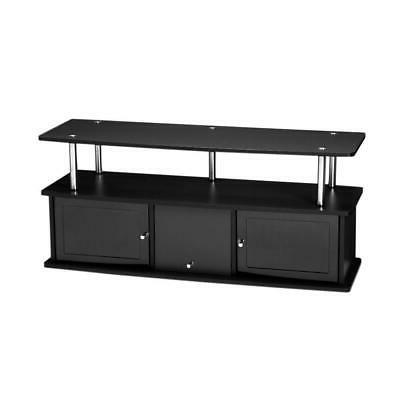 designs2go black storage center | stand concepts with
