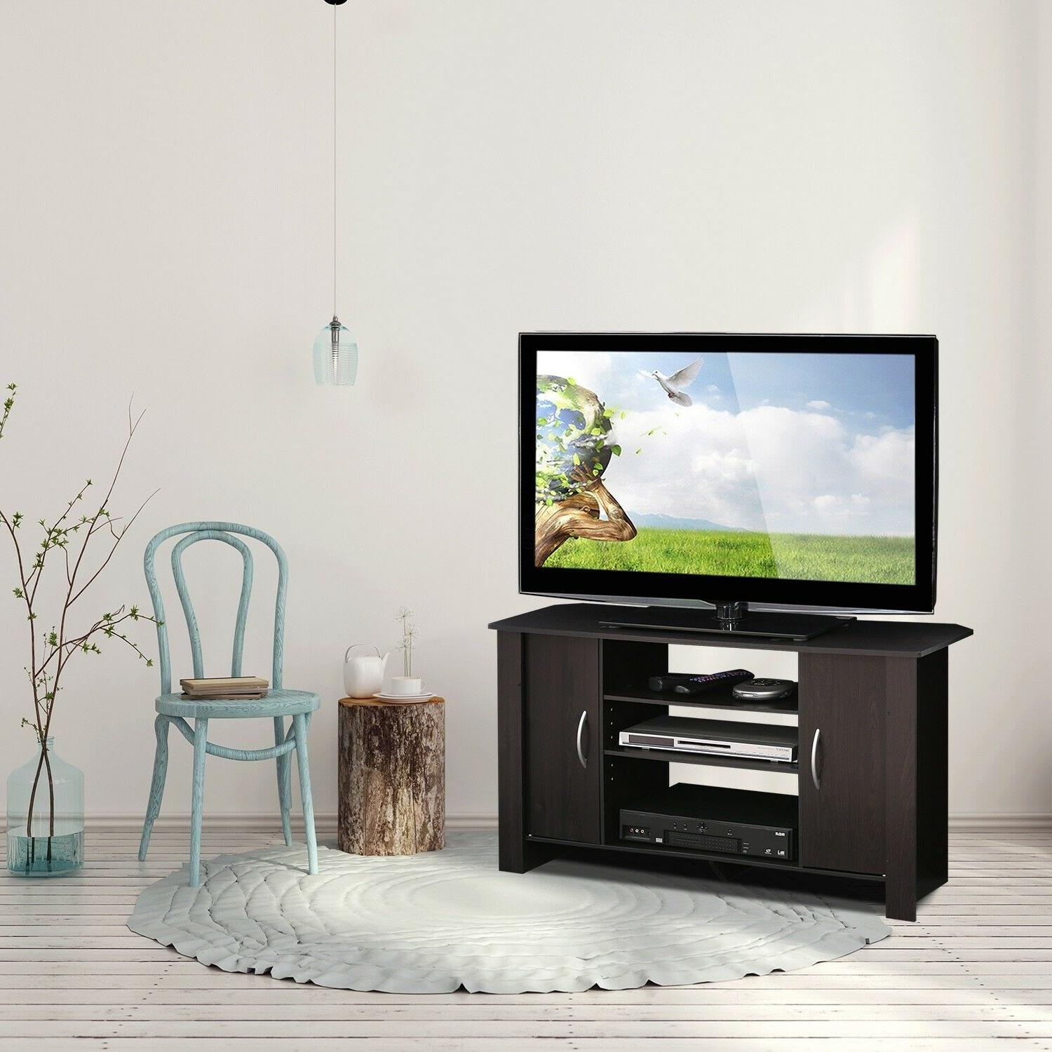 econ espresso tv stand entertainment center for TVs up to 42