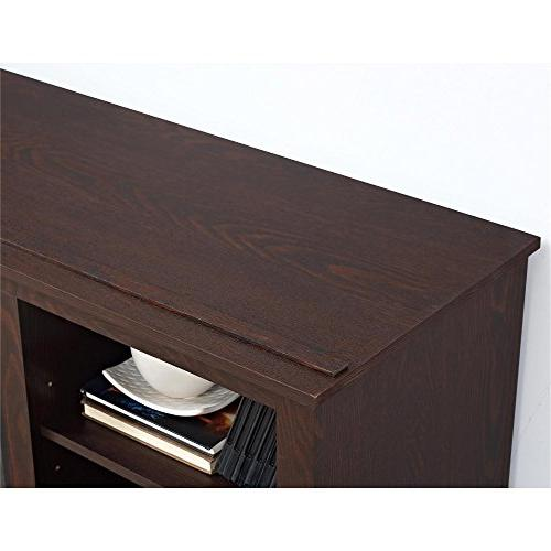 """Ameriwood TV Console with for TVs up to 60"""", Espresso"""