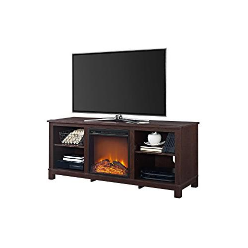 Ameriwood Home Console with for Espresso