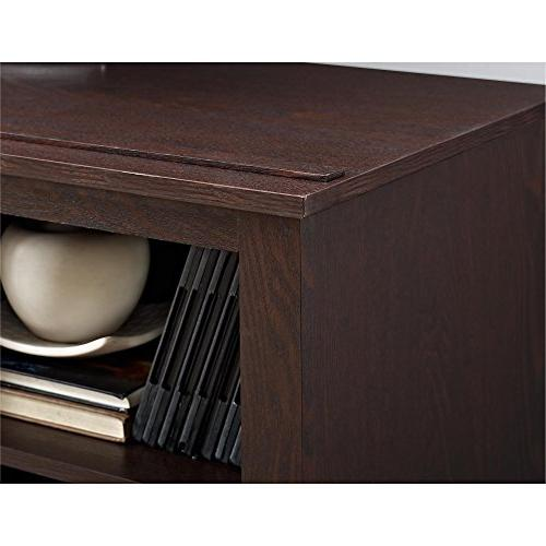 Ameriwood Home Console with Fireplace TVs Espresso