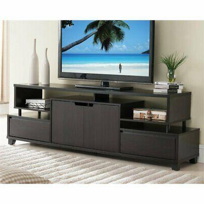 eliana contemporary tv console cappuccino