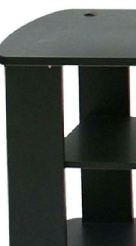 THE Center TV Stand Black