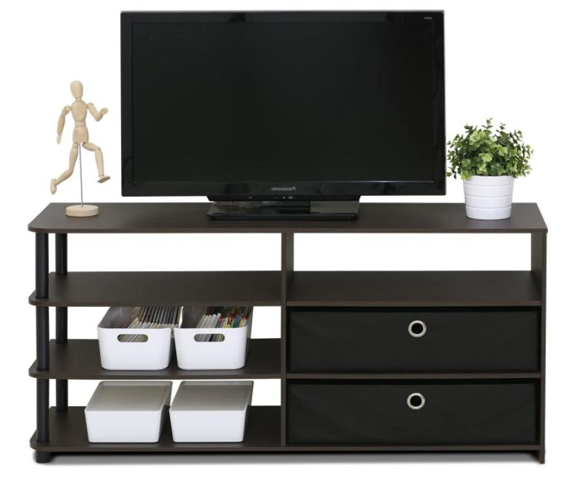 Entertainment Center TV Stand Console Cabinet Living
