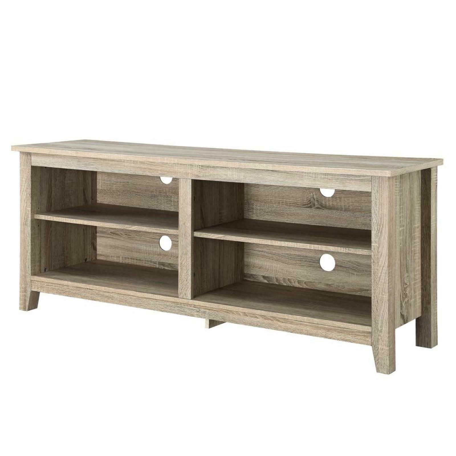essential natural storage entertainment center