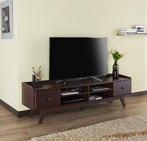 HOMES: Inside Out FGI-1783C5 TV Stand