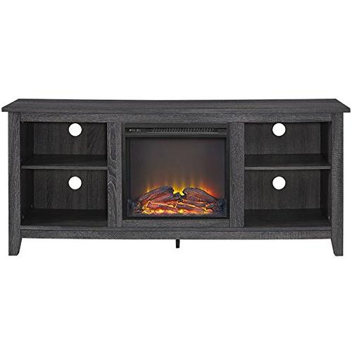"""58"""" Fireplace TV Stand in"""