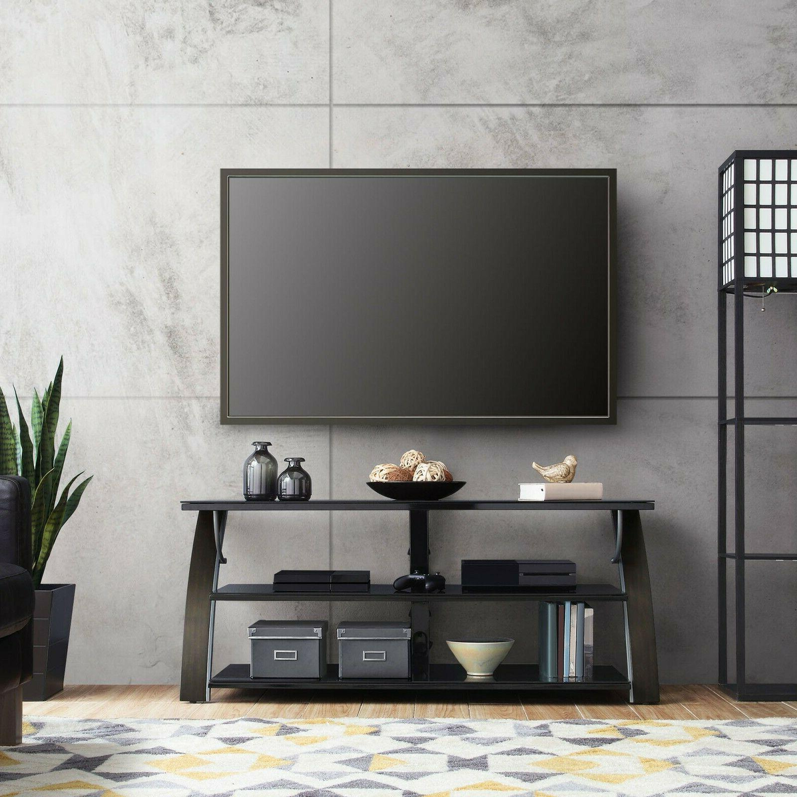 Flat 3-in-1 Stand Mount Housing TVs Mounted