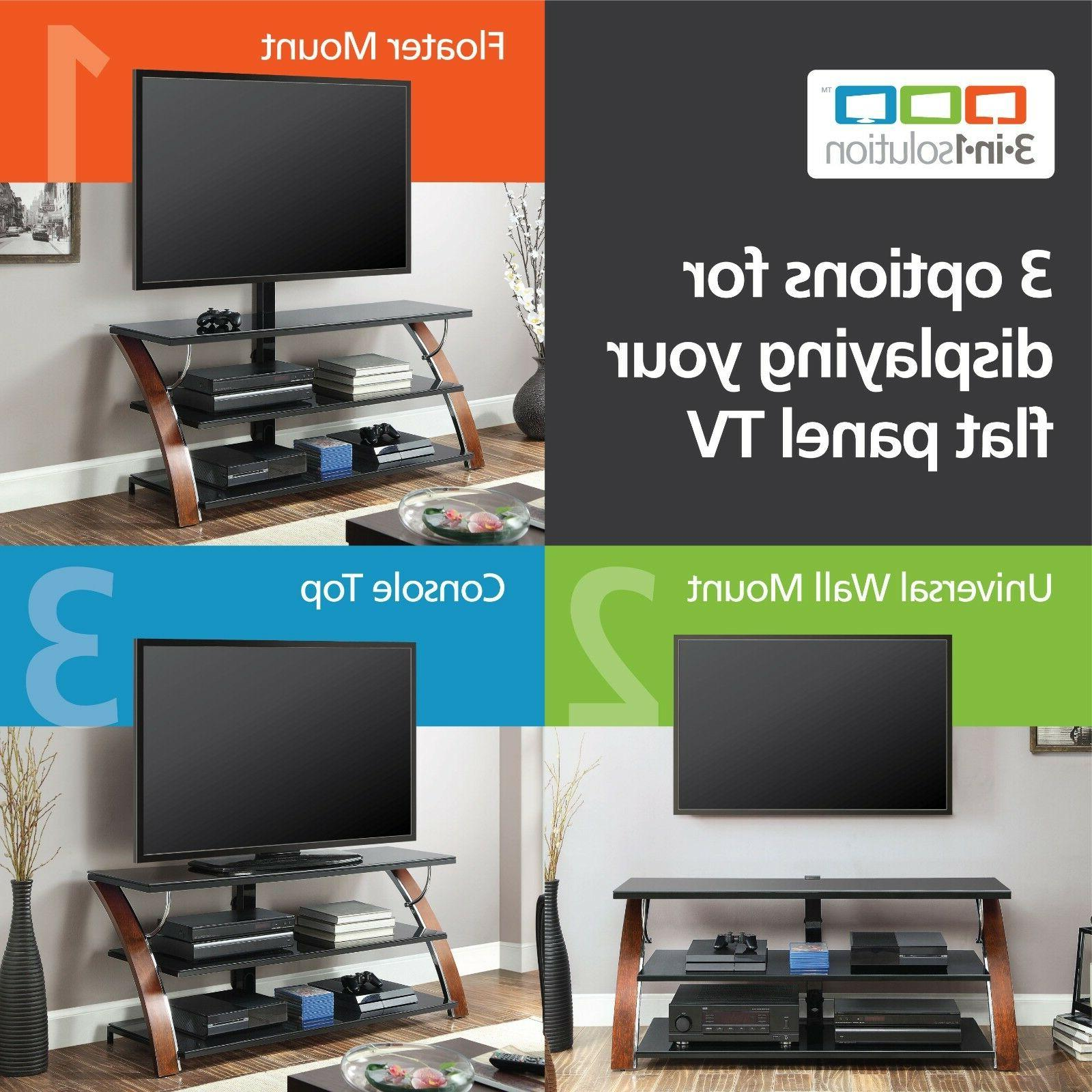 brown cherry 1 flat panel