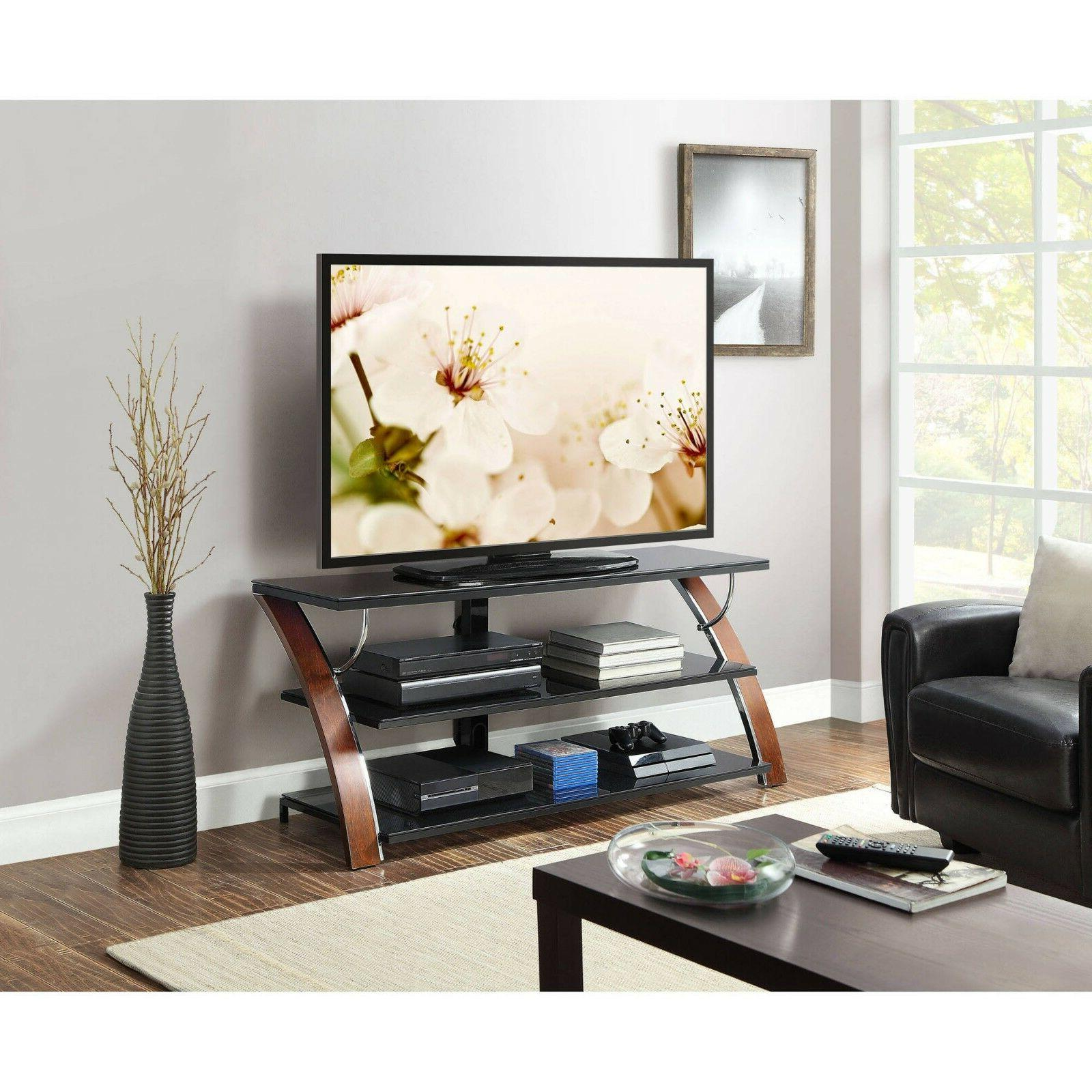 Tv Stand Media Entertainment Center up to 65 Inch Flat Scree