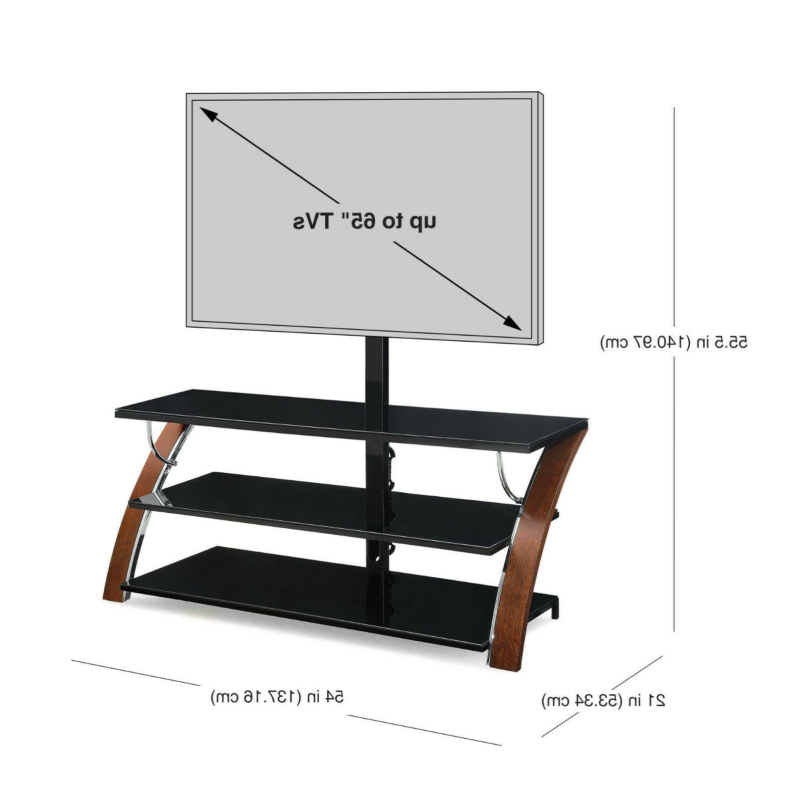 Flat Screen TV Stand Panel 3-in-1 Center