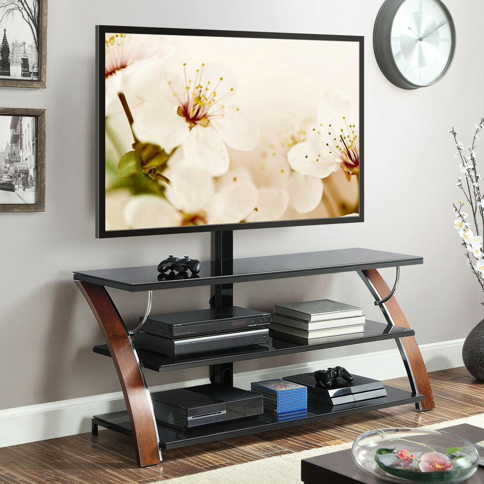 flat screen tv stand panel 3 in