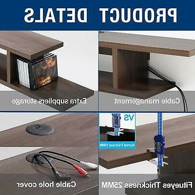 Floating Wall Mount Media Console Entertainment Center TV Stand