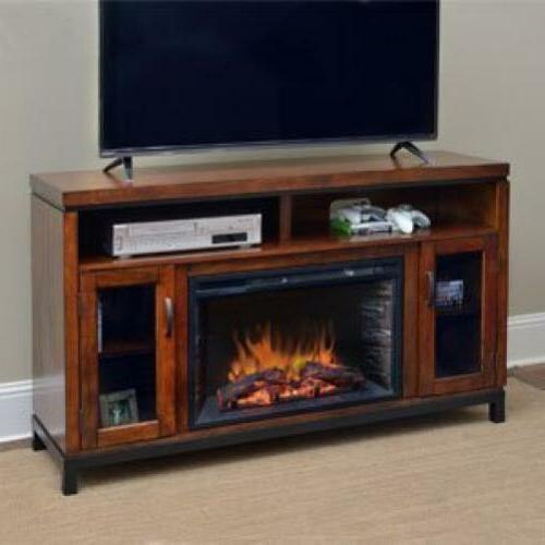 harper infrared electric fireplace entertainment center in