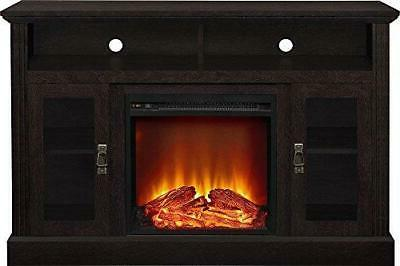 "Ameriwood Home Fireplace TV Console TVs a 50"","