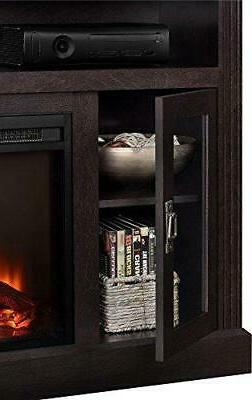 "Ameriwood Electric Fireplace TV TVs up to 50"","