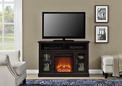 "Ameriwood Home Chicago Fireplace TV for 50"", Espres"