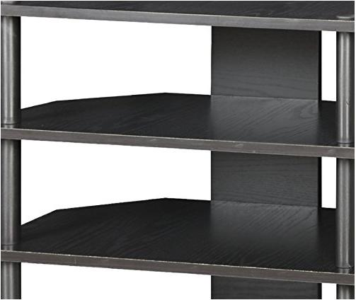 Home TV Entertainment Center Shelves Media Console