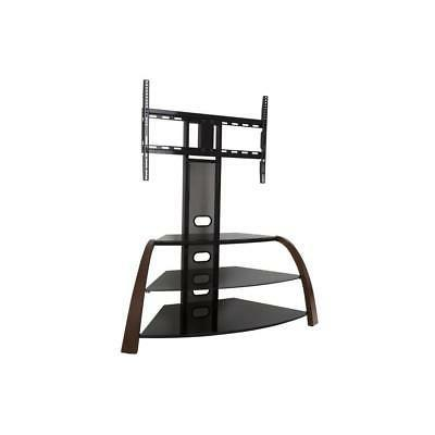 "AVF Kingswood Floor Stand with Mount for TVs 32 - 55"", Walnu"