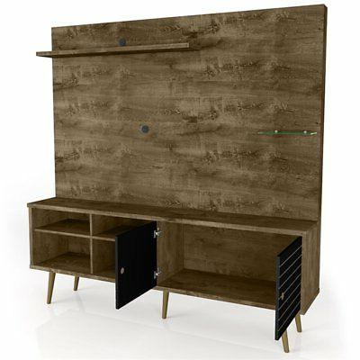 liberty 71 entertainment center in brown