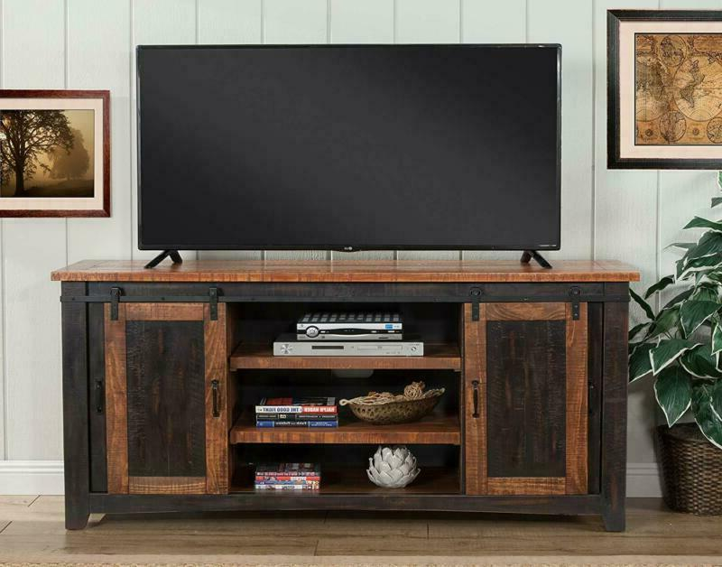 Martin Santa Fe Tv Stand Antique And Distressed